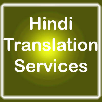 Hindi Translation Services
