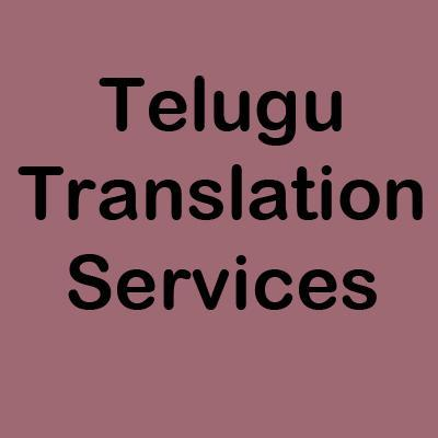Telugu Translation Services