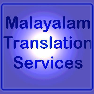 Malayalam Translation Services
