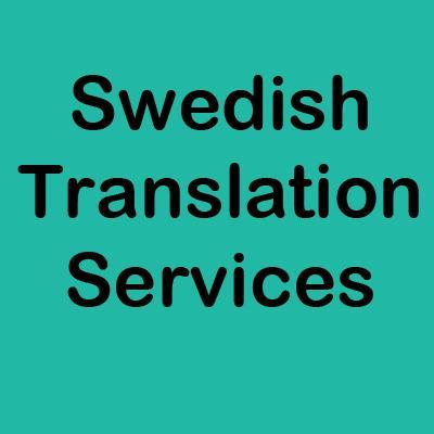 Swedish Translation Services